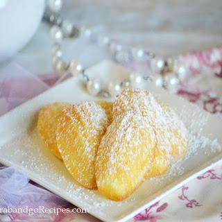Lemon Madeleines.