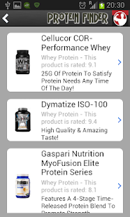 Protein Finder- screenshot thumbnail