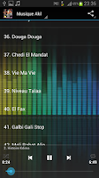 Screenshot of Cheb Akil MP3