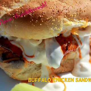 Buffalo Chicken Sandwiches!