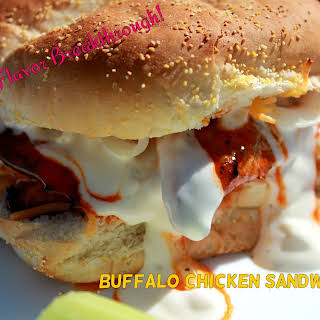 Buffalo Chicken Sandwiches!.