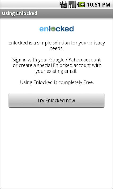 Enlocked - screenshot