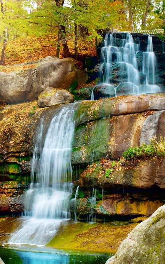 waterfall live wallpaper android apps on google play