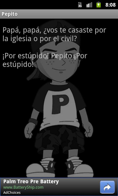 Pepito- screenshot