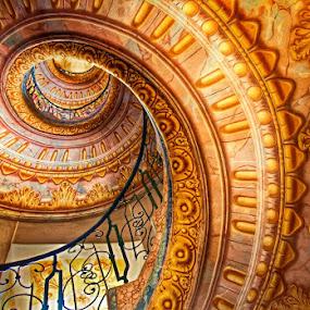 Monastery Melk Stairs by Johana Starová - Buildings & Architecture Public & Historical (  )