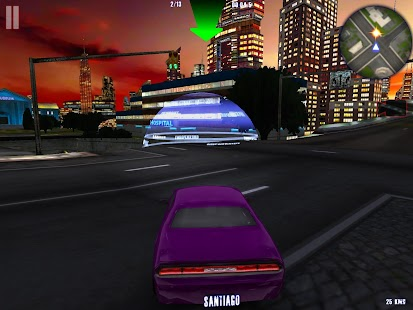 MIDTOWN CRAZY RACE PRO - screenshot
