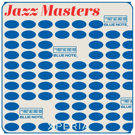 XPERIA™ Blue Note Vinyl Theme 個人化 App LOGO-APP試玩