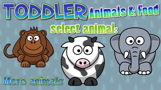 Toddler Animals Food