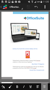OfficeSuite 7 Pro (PDF&Fonts) - screenshot thumbnail