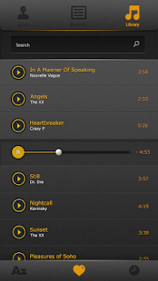 Screenshots for Vinilla Records Music Player