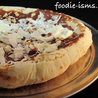 Nutella Pizza.
