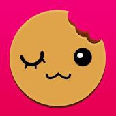 デコカメラ写真やメッセをクッキーに焼くショークッキーアプリ