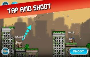 Screenshot of City Monkey: Pixel Artillery