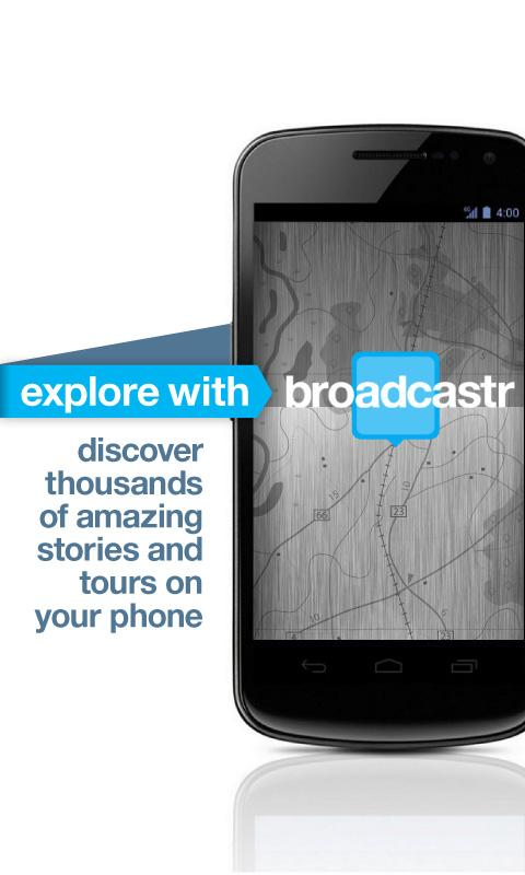 Broadcastr - screenshot