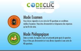 Screenshot of Codeclic Mobile
