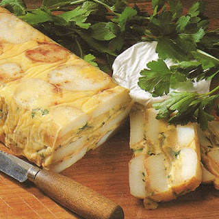Camembert aardappelterrine 'A LA MARIANNE'