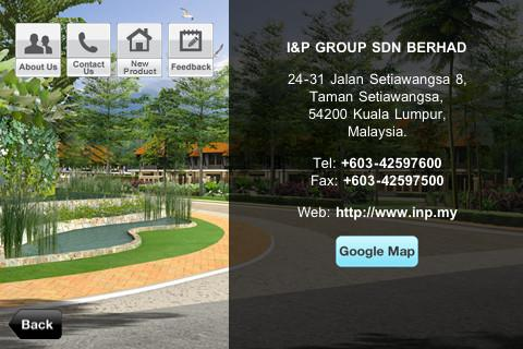 I&P Group- screenshot