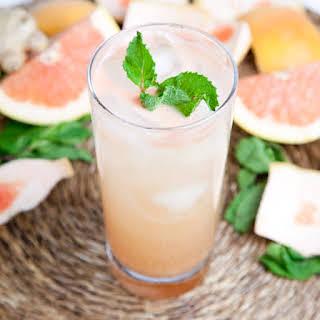Grapefruit Ginger Spritzer.