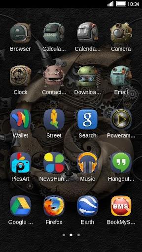 【免費個人化App】机器人之心--C Launcher主题-APP點子