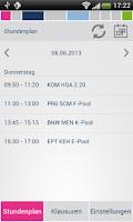 Screenshot of b.i.b. Stundenplan