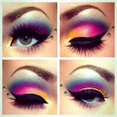Creative Eyeshadow Photography