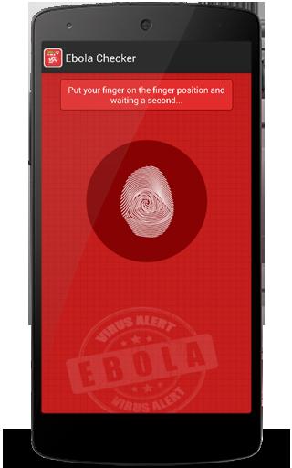 Ebola Checker prank
