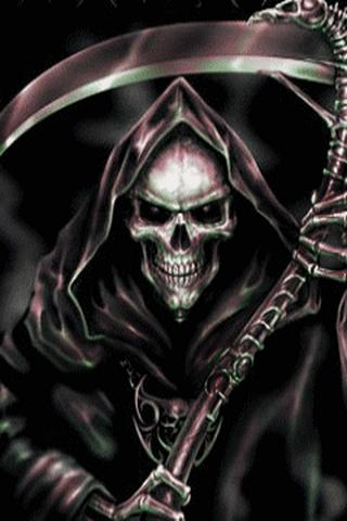Grim Reaper Live Wallpaper- screenshot