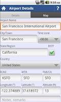 Screenshot of intelliPilot - Pilot LogBook