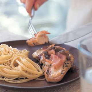 Easy Chicken Saltimbocca.