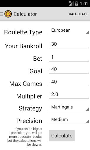 Roulette Optimizer
