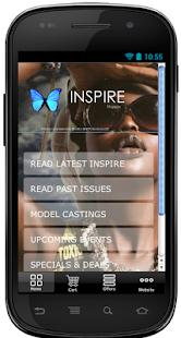 INSPIRE Magazine screenshot
