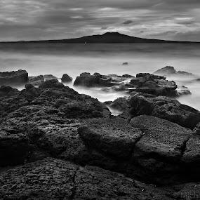 Mystic by Michelle Denniston - Landscapes Beaches