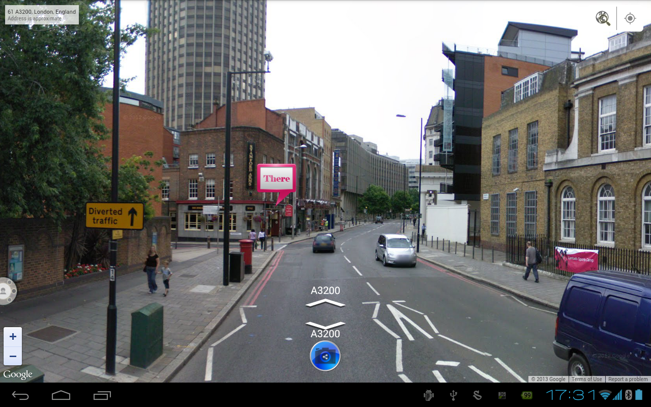 Mapify, Share your street view - screenshot