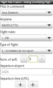 Flight Plan Creator - screenshot thumbnail