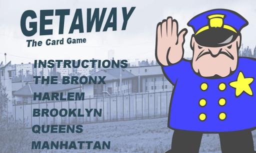 Getaway Card Game