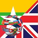 Learn English Burmese icon
