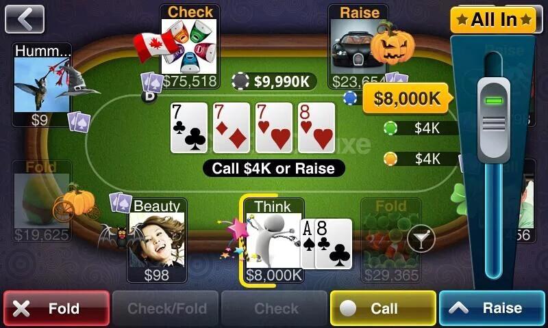 Texas HoldEm Poker Deluxe screenshot #8