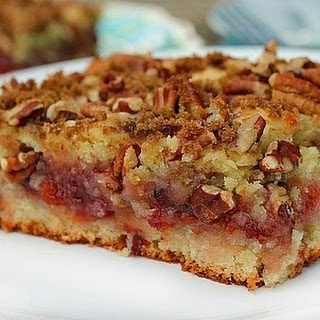 Cherry Preserve Coffee Cake.
