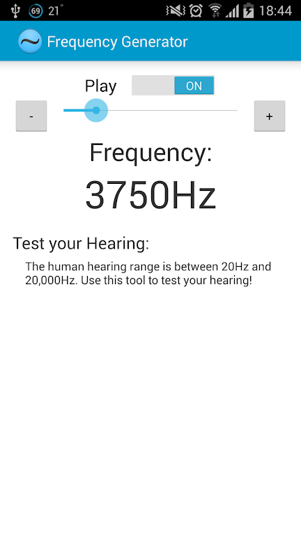 Download Frequency Generator (Sound) APK latest version app