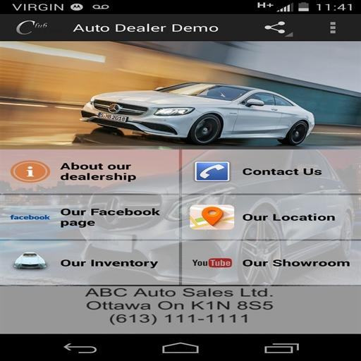 Auto Dealer Mobile App LOGO-APP點子