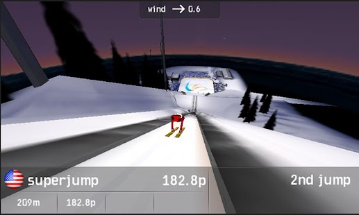 Vikersund Ski Flying - screenshot thumbnail