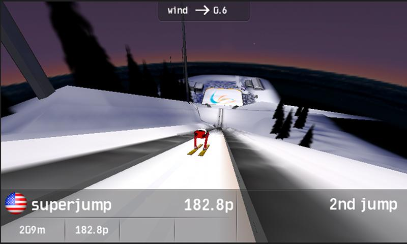 Vikersund Ski Flying - screenshot
