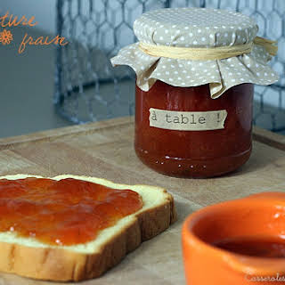 Apricot and Strawberry Jam.