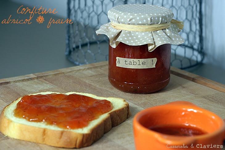 Apricot and Strawberry Jam Recipe