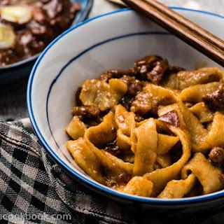 Mom's Best Zha Jiang Mian (炸酱面) - Fried Sauce Noodles.