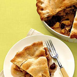 Apple Pie with Whisky-Soaked Cherries.
