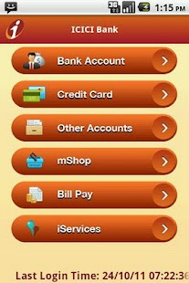 ICICI Mobile Banking - iMobile - screenshot thumbnail