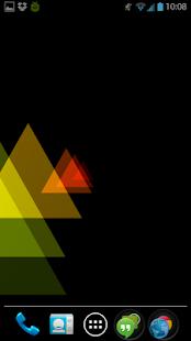 玩個人化App|Trianglism Live Wallpaper免費|APP試玩