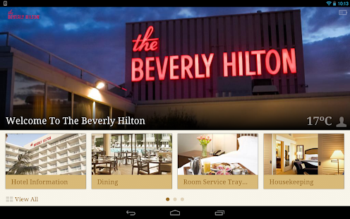 The Beverly Hilton- screenshot thumbnail