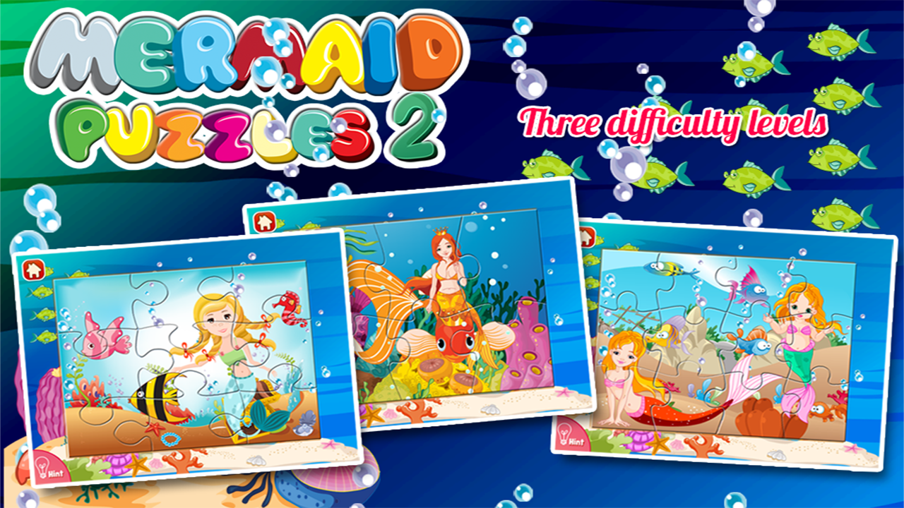 Mermaid Princess Puzzles- screenshot